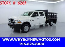 2011_Ram_2500_~ 4x4 ~ Crew Cab ~ 9ft. Stake Bed ~ Only 54K Miles!_ Rocklin CA