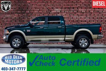 2011_Ram_2500_4x4 Crew Cab Laramie Diesel Leather Roof Nav_ Red Deer AB