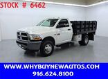 2011 Ram 3500 ~ 4x4 ~ 9ft. Stake Bed ~ Only 31K Miles!