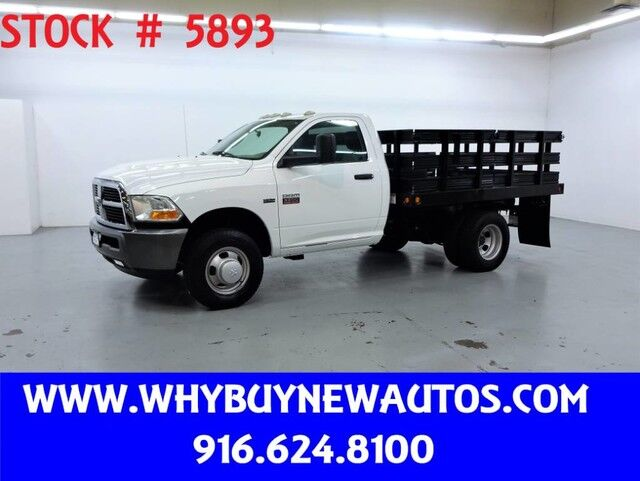 2011 Ram 3500 ~ 9ft Stake Bed ~ Only 27K Miles! Rocklin CA