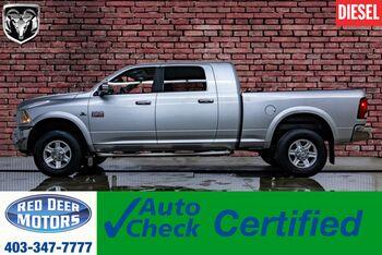2011_Ram_3500_4x4 Mega Cab Laramie Diesel Leather Roof Nav_ Red Deer AB