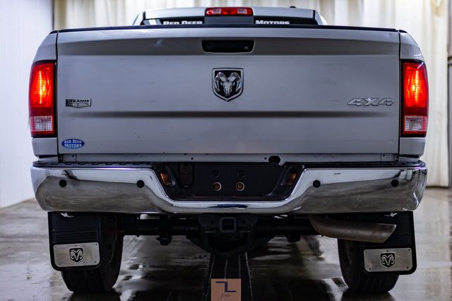 2011 Ram 3500 4x4 Mega Cab Laramie Leather Roof Nav Red Deer AB