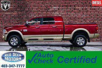 2011_Ram_3500_4x4 Mega Cab Longhorn Diesel Leather Roof Nav_ Red Deer AB