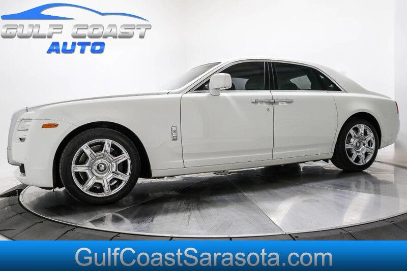 2011 Rolls-Royce GHOST SERVICED RUNS GREAT EXTRA CLEAN BELOW WHOLESALE Sarasota FL