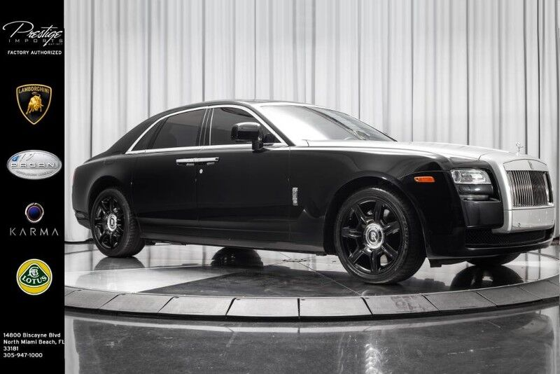 2011_Rolls-Royce_Ghost__ North Miami FL