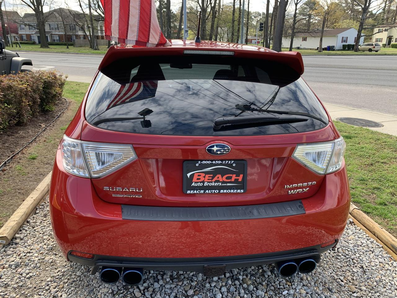 2011 SUBARU IMPREZA WRX,WARRANTY, MANUAL, AUX/USB PORT, KEYLESS ENTRY, BLUETOOTH, CLEAN CARFAX! Norfolk VA