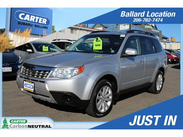 2011 Subaru Forester 2.5X Premium with All-Weathe Seattle WA
