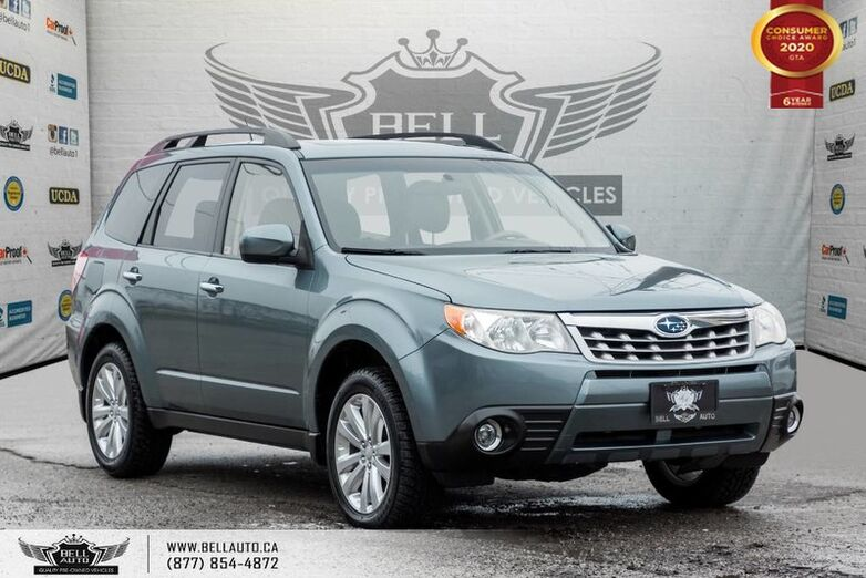 2011 Subaru Forester X Limited, NO ACCIDENT, AWD, SUNROOF, BLUETOOTH, HEATED SEATS Toronto ON