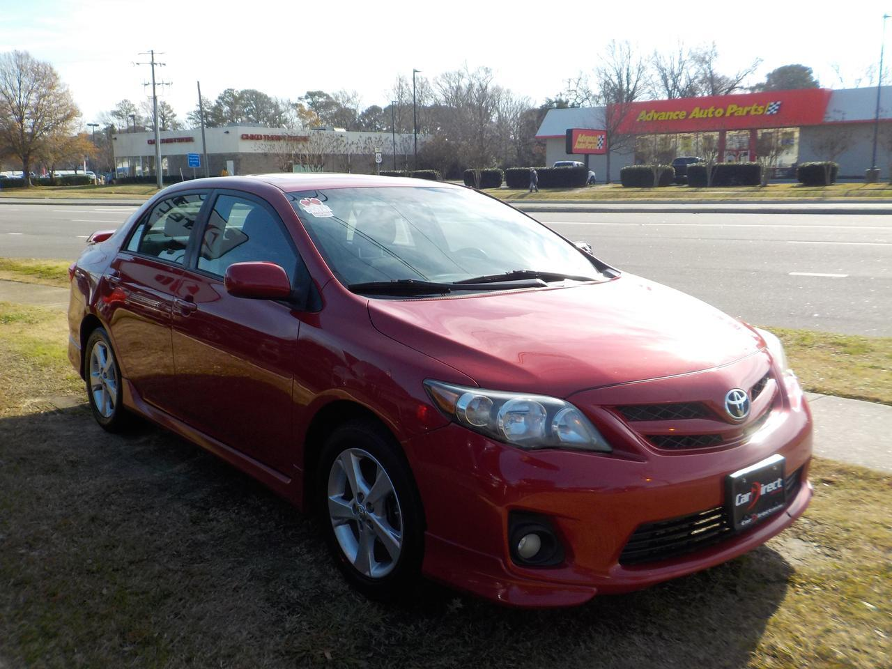 2011 TOYOTA COROLLA S, WARRANTY, SUNROOF, DAYTIME RUNNING LIGHTS, KEYLESS ENTRY!