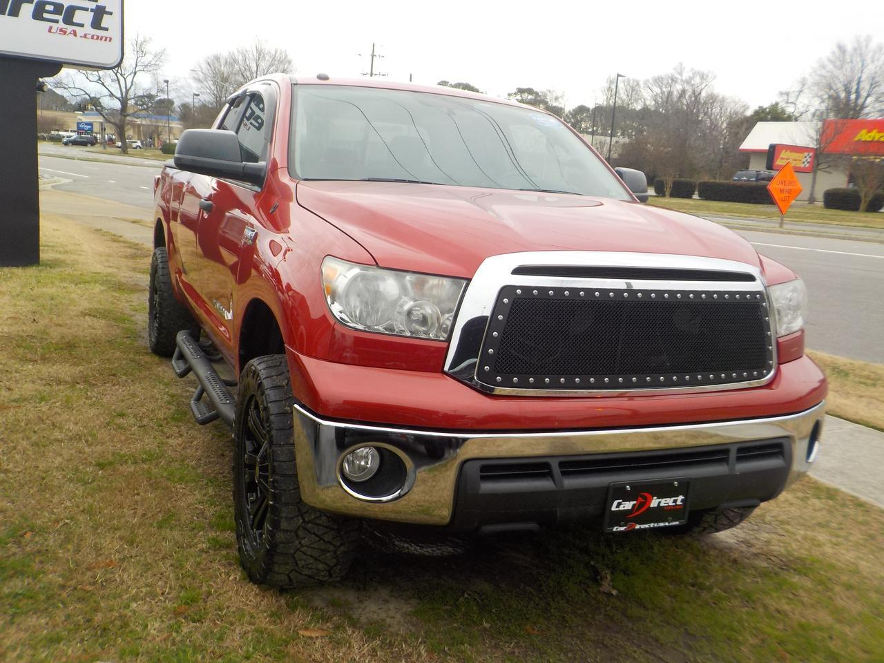 2011 TOYOTA TUNDRA DOUBLE CAB TRD OFF ROAD SR5 4X4, SD SERIES RIMS, HARD TONNEAU COVER, TOW PACKAGE,  ONLY 46K MILES! Virginia Beach VA