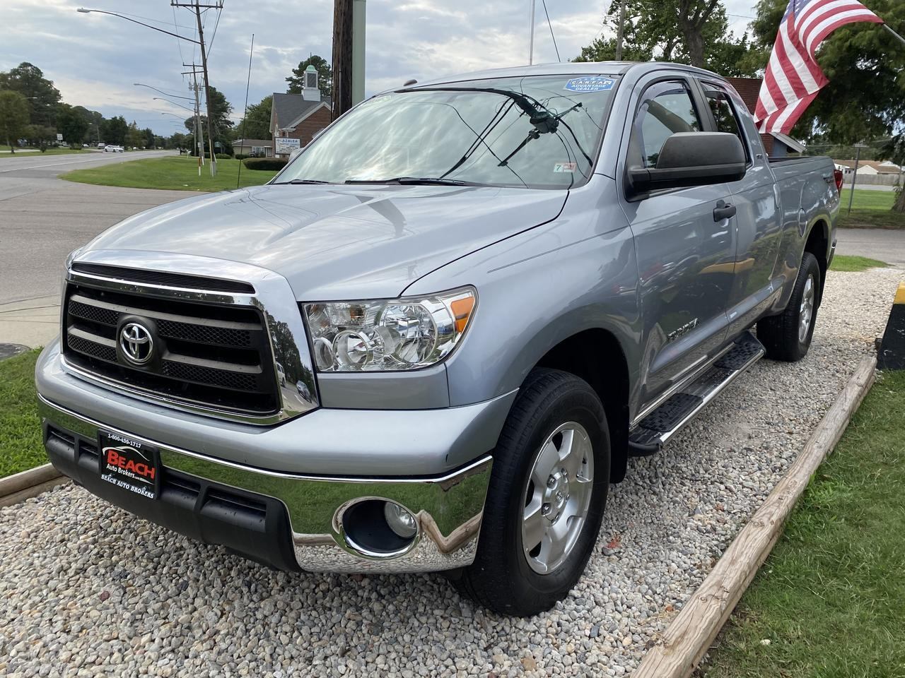 2011 TOYOTA TUNDRA TRD OFF ROAD DOUBLE CAB 4X4, WARRANTY, AUX/USB PORT, RUNNING BOARDS, BLUETOOTH, CRUISE CONTROL! Norfolk VA