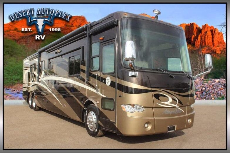 2011 Tiffin Allegro Bus 43QBP Quad Slide Class A Diesel RV Mesa AZ