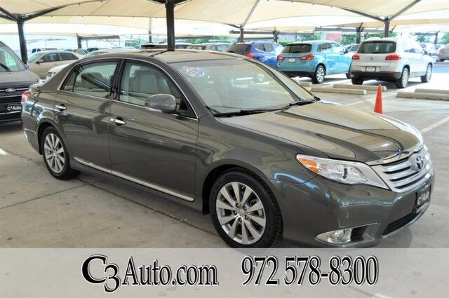2011 Toyota Avalon Limited Carfax 1-Owner!!! Plano TX