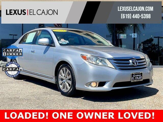2011 Toyota Avalon Limited San Diego County CA