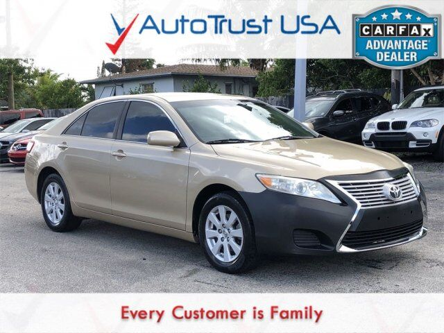2011 Toyota Camry LE LOCAL TRADE MANUAL TRANS BACKUP CAM - VALUE LOT Miami FL