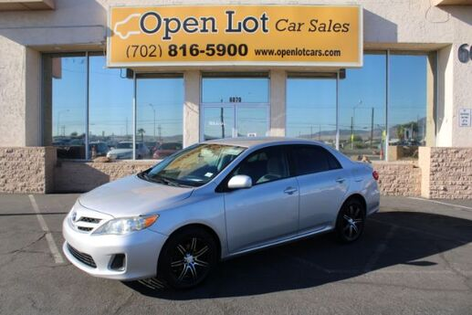 2011 Toyota Corolla S 4-Speed AT Las Vegas NV