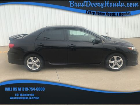 2011_Toyota_Corolla_S_ West Burlington IA