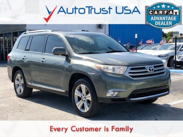 2011 Toyota Highlander Limited Value Lot Miami FL