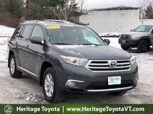 2011 Toyota Highlander SE South Burlington VT