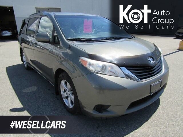 2011 Toyota SIENNA LE! RARE UNIT! FULLY INSPECTED! IN MINT SHAPE! WONT LAST LONG! 7 PASSENGER! Kelowna BC
