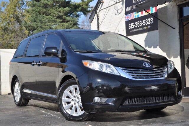 2011 Toyota Sienna Limited/7 Passenger/Navigation Pkg w/ Push Button Start/Premium Pkg w/ Dual-View Entertainment/Panorama Camera/Blind-Spot Monitor w/ Rear Cross-Traffic Alert Nashville TN