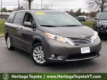 2011 Toyota Sienna Limited AWD South Burlington VT