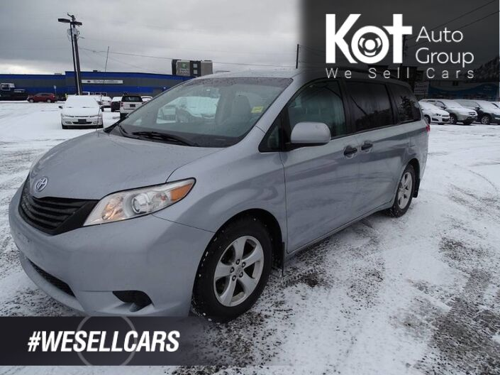 2011 Toyota Sienna Tow Package, 3 Row Seating, Great Family Vehicle Kelowna BC