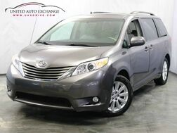 2011_Toyota_Sienna_XLE / 3.5L V6 Engine / AWD / Sunroof / Heated Leather Seats / Rear View Camera_ Addison IL
