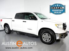 Toyota Tundra 2WD CrewMax 4.6L V8 *SR5 PACKAGE, LEATHER SEATING, CRUISE CONTROL, POWER SLIDING REAR WINDOW, BED LINER, TOW PKG 2011