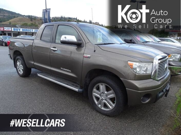 2011 Toyota Tundra Limited, Leather Seats, Dual Climate Control, Bluetooth Penticton BC