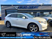 2011 Toyota Venza AWD V6 SUNROOF, LEATHER, DVDS, EASY LOANS