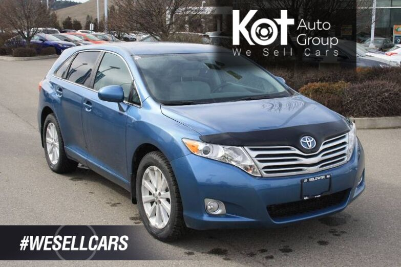 2011 Toyota Venza LE 4dr Wgn AWD! BLUETOOTH! POWER DRIVER'S SEAT! Kelowna BC
