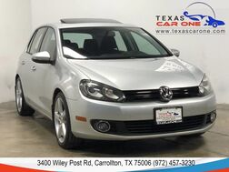 2011_Volkswagen_Golf_TDI NAVIGATION SUNROOF HEATED SEATS BLUETOOTH CRUISE CONTROL_ Carrollton TX