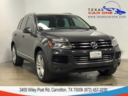 2011_Volkswagen_Touareg_EXECUTIVE 4MOTION TDI NAVIGATION PANORAMA LEATHER HEATED SEATS R_ Carrollton TX
