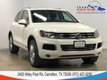 2011 Volkswagen Touareg LUX 4MOTION TDI NAVIGATION PANORAMA LEATHER HEATED SEATS REAR CA