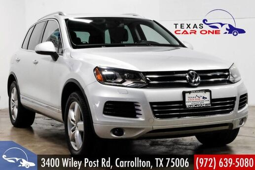 2011 Volkswagen Touareg LUX 4MOTION TDI NAVIGATION PANORAMA LEATHER HEATED SEATS REAR CAMERA Carrollton TX