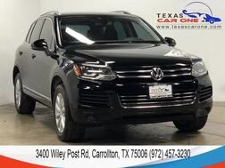 2011_Volkswagen_Touareg_SPORT 4MOTION TDI NAVIGATION LEATHER HEATED SEATS REAR CAMERA BL_ Carrollton TX