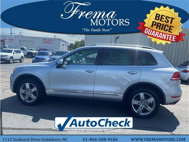 2011 Volkswagen Touareg VR6 Lux All-wheel Drive 4MOTION Goldsboro NC