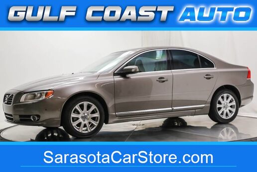 2011 Volvo S80 3.2L LEATHER SUNROOF WHEELS LOW MILES CLEAN !! Sarasota FL