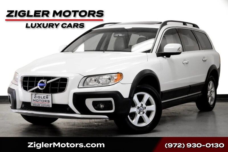 2011 Volvo XC70 Wagon AWD w/Moonroof Blind Spot Premium Pkg One Owner Low Miles Clean Carfax Addison TX