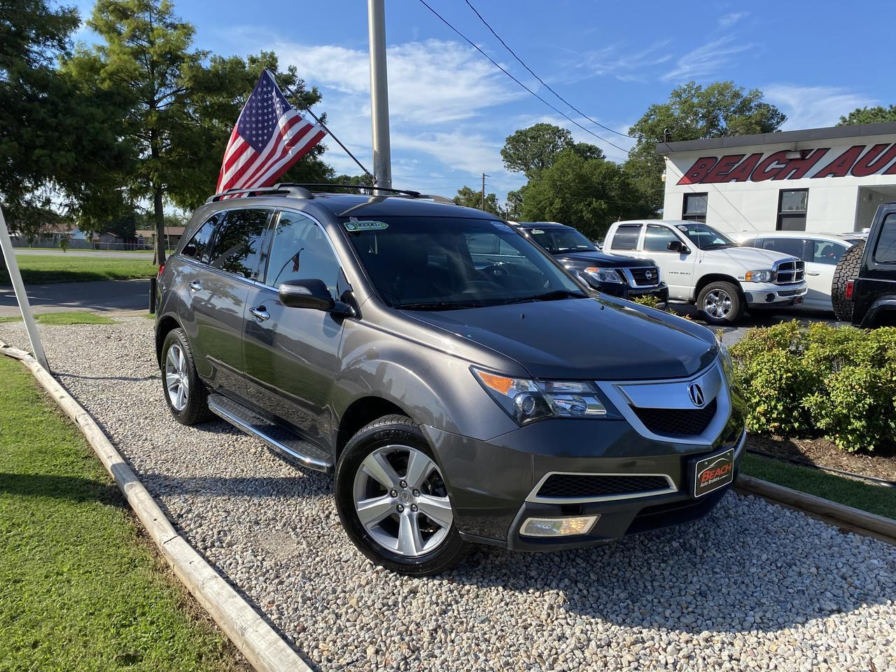 2012 ACURA MDX TECH, WARRANTY, LEATHER, SUNROOF, NAV, HEATED SEATS, BLUETOOTH, BACKUP CAM, 1 OWNER, LOW MILES!