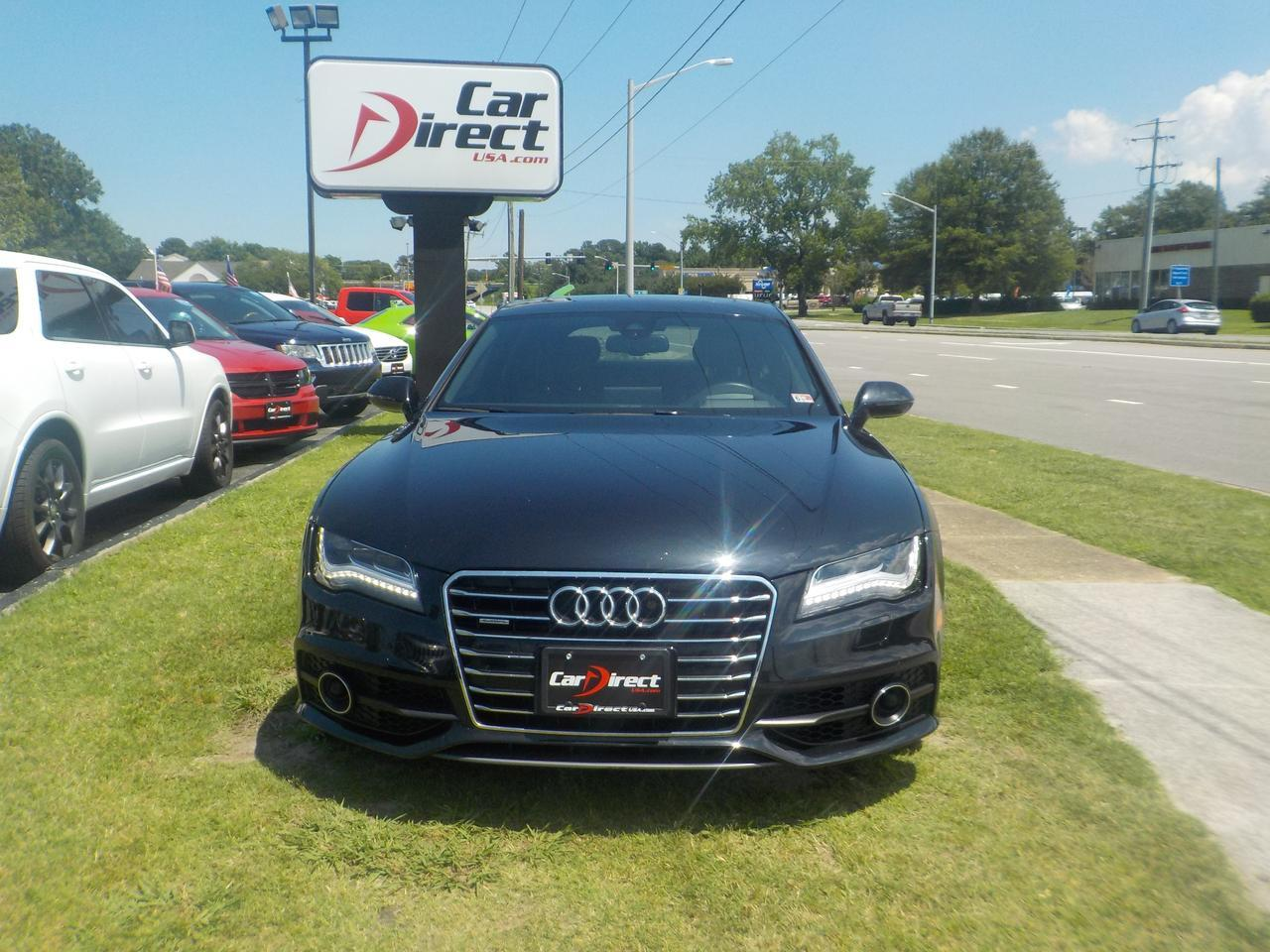 2012 AUDI A7 PRESITGE HATCHBACK AWD, NAVIGATION, TINTED WINDOWS, PARKING SENSORS, BACKUP CAMERA, POWER LIFTGATE! Virginia Beach VA