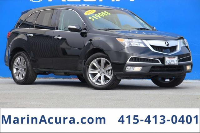 2012_Acura_MDX_AWD 4dr Advance Pkg_ Bay Area CA