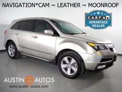 2012_Acura_MDX AWD Tech Pkg_*NAVIGATION, BACKUP-CAMERA, MOONROOF, LEATHER, HEATED SEATS, 3RD ROW SEATING, DOLBY PRO-LOGIC SOUND, BLUETOOTH PHONE & AUDIO_ Round Rock TX