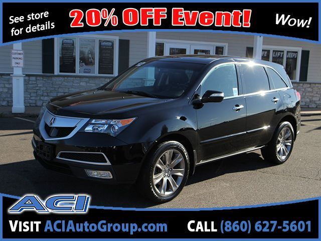2012 Acura MDX Advance/Entertainment Pkg East Windsor CT