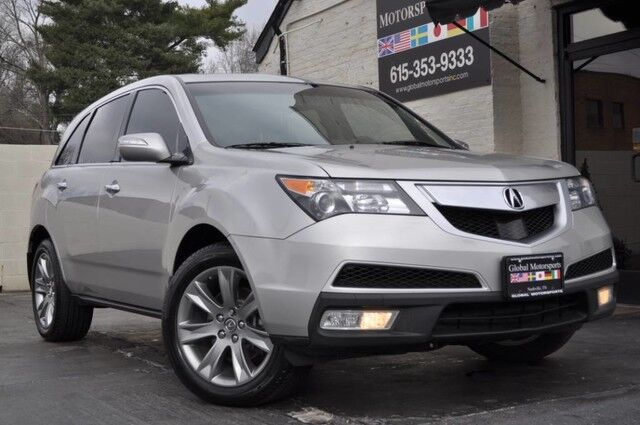 2012 Acura MDX Advance Pkg/SH-AWD/Technology Package w/ Navigation/Blind Spot Info/Adaptive Cruise Control/Rear-View Camera/Heated & Ventilated Seats/3rd Row Nashville TN
