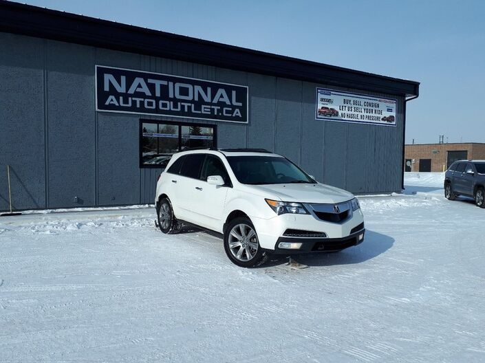 2012 Acura MDX Elite Pkg - FULLY LOADED- DVD-HEATED AND COOLED LEATHER AND SO MUCH MORE Lethbridge AB