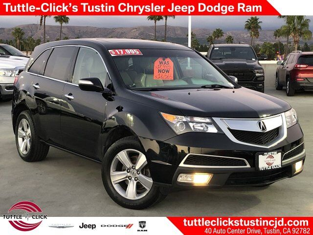 2012 Acura MDX Tech/Entertainment Pkg Irvine CA
