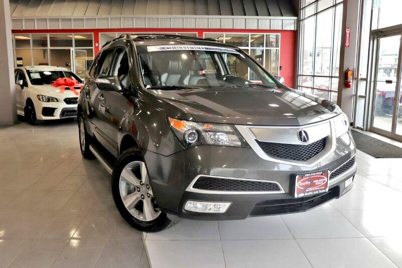 2012 Acura MDX Tech Pkg AWD - CARFAX Certified 1 Owner - No Accidents - Fully Serviced - QUALITY CERTIFIED up to 10 YEARS 100,000 MILE WARRANTY Springfield NJ