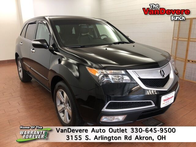 2012 Acura MDX Technology Akron OH